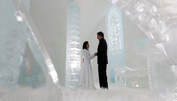 Bodas: Conoce los 5 lugares más originales del mundo para casarse