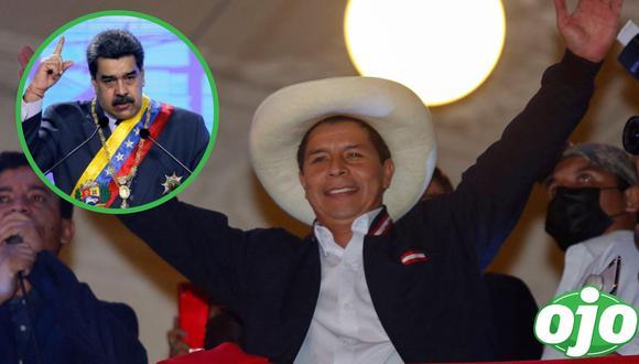 Nicolás Maduro felicita a Pedro Castillo. (Foto: GEC   Reuters).
