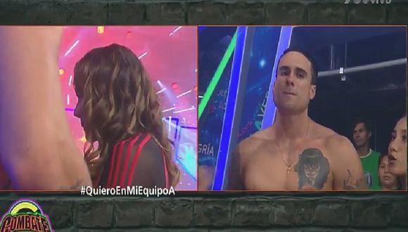 Isabel Acevedo no vota por Gino Assereto y termina llorando en Combate (VIDEO)