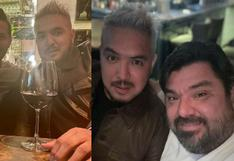 Juntos en Lima después de años: Claudio Pizarro y Juan Manuel Vargas protagonizaron reencuentro
