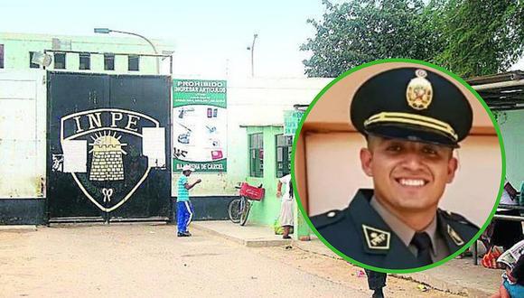 Policía que abatió a delincuente en balacera es trasladado a penal de Piura