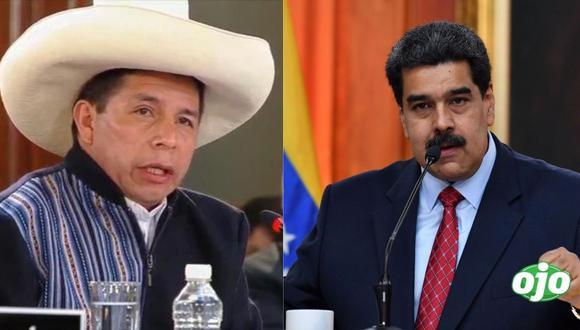 """Pedro Castillo sí se reunió con Nicolás Maduro """"para solucionar crisis migratoria"""""""