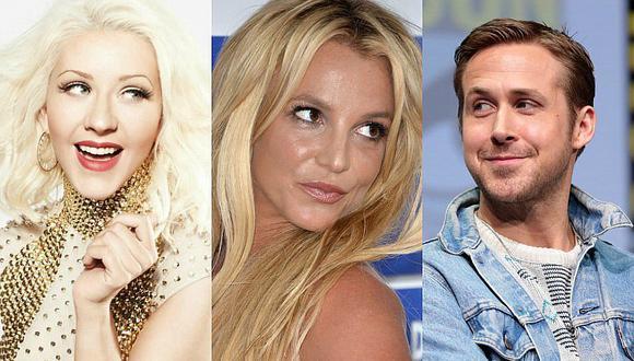 Christina Aguilera contó que Ryan Gosling estuvo enamorado de Britney Spears