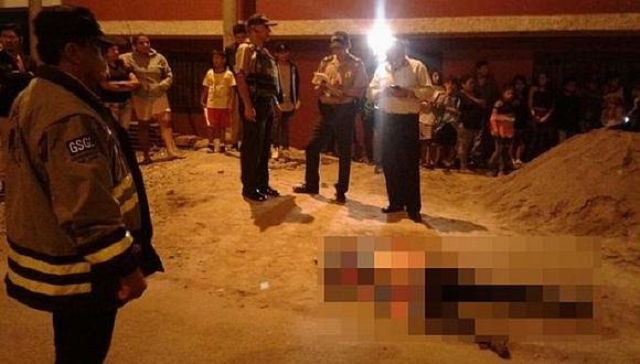 Cercado de Lima: sicarios matan de 7 balazos a joven tras salir de fiesta patronal (FOTOS Y VIDEO)