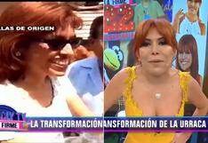"""Magaly Medina cumple 22 años en TV: """"la primera vez me veía horrible │VIDEO"""
