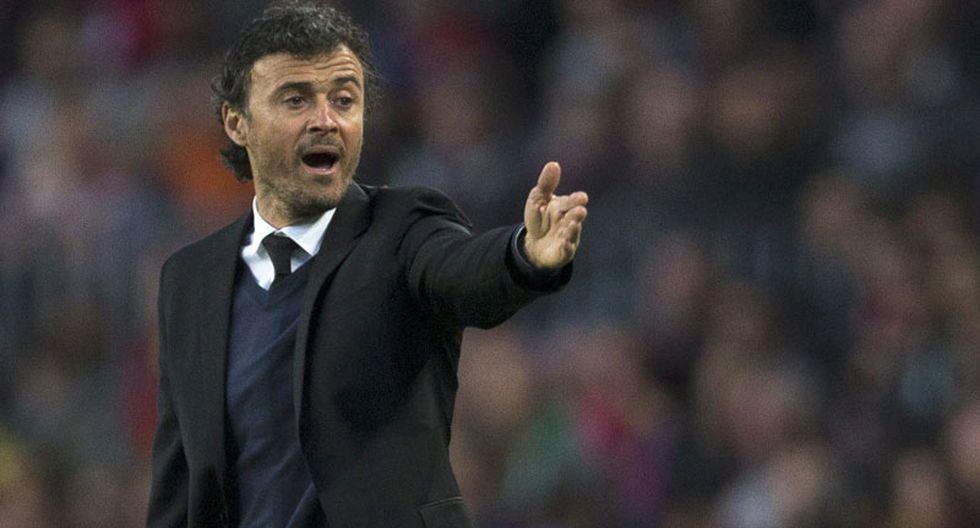Luis Enrique: Barcelona ha hecho una temporada excepcional