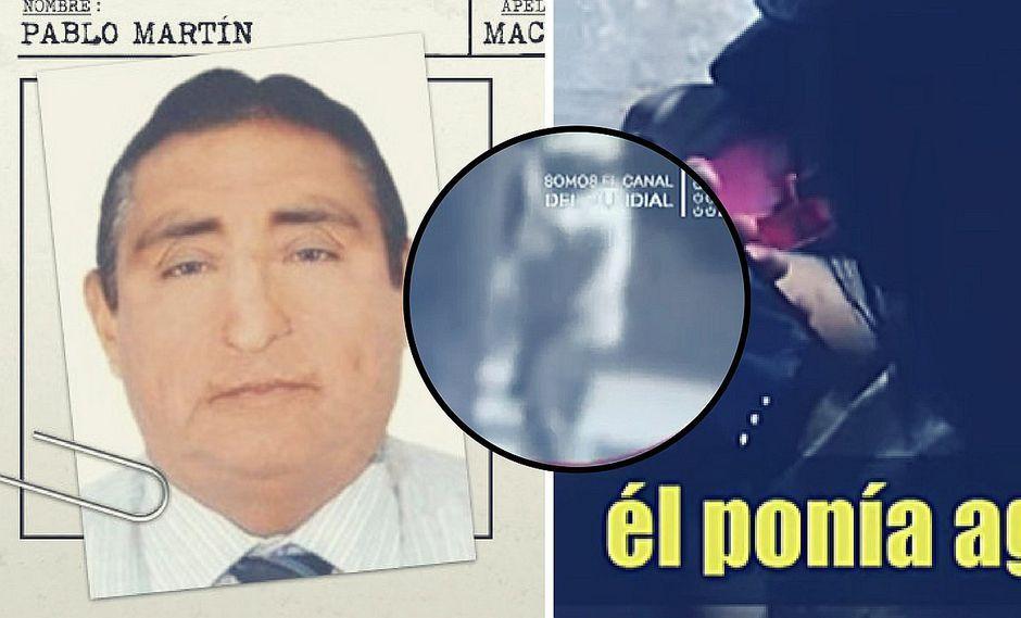 Cámaras captan las últimas imágenes de director que violó a niña y que está no habido