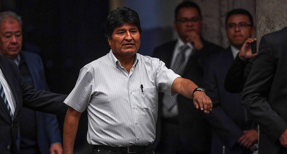 """El expresidente boliviano Evo Morales, exiliado en México, afrontaría un proceso judicial acusado de """"sedición y terrorismo"""". (Foto: AFP)"""