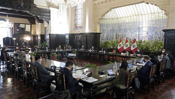 Fuentes de El Comercio señalaron que el cónclave ministerial será a las 8:00 p.m.. (Foto: PCM)