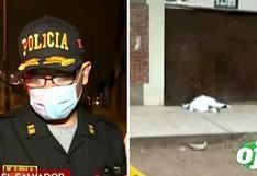 Policía mata a balazos a delincuente que quiso robar a su madre, quien retiró S/. 5 mil del banco