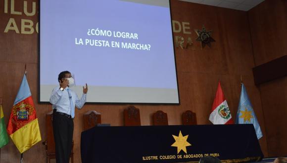 Piura: decano del Colegio de Abogados impulsa campaña para adquirir planta de oxigeno (Foto: Colegio Abogados Piura)