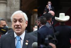 """Piñera: """"si le va bien al Presidente Castillo, le va bien al Perú y si le va bien al Perú nos va bien a todos"""""""