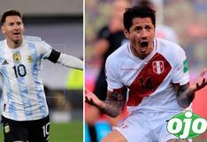 Perú vs. Argentina EN VIVO: Selección Peruana aguantó hasta el minuto 42