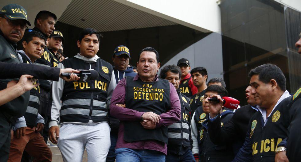 Félix Moreno fue capturado el último lunes. (Foto: Stephania Piaggio)