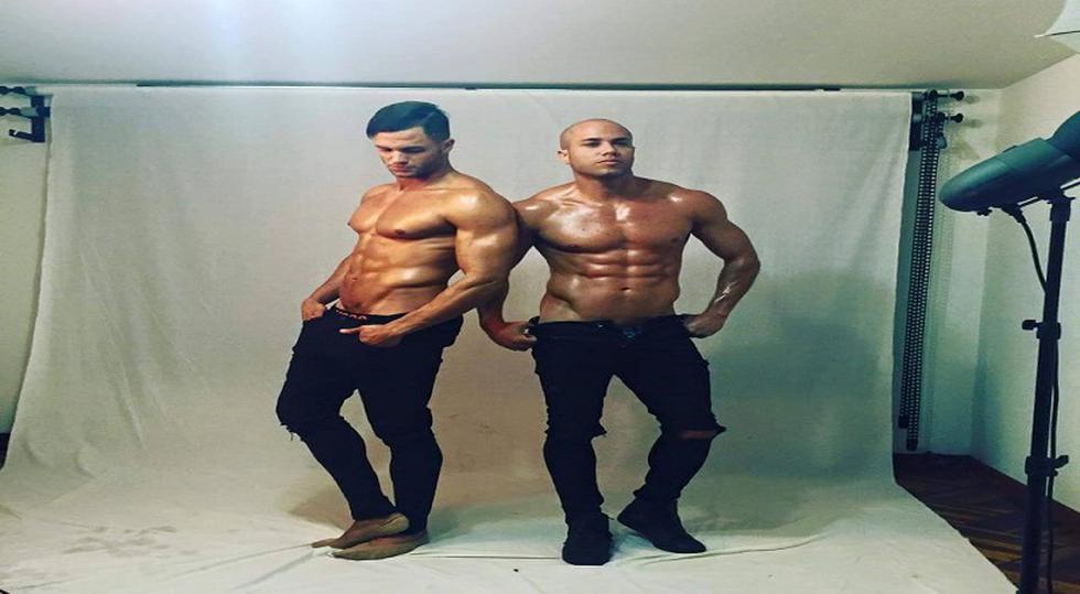 Los hermanos Bruno y Fabio Agostini lanzan calendario y cuadernos [FOTOS]