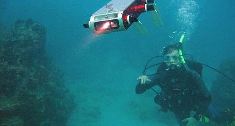 Robots marinos y captura del ADN son el futuro de exploración oceánica