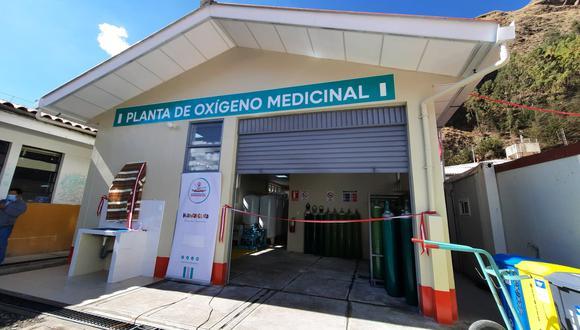 Inauguran planta de oxígeno en hospital departamental para pacientes COVID-19 (Foto: Municipalidad Huancavelica).