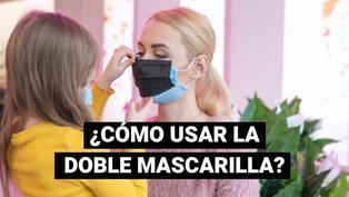 ¿Sabías que el orden en el que se usa la doble mascarilla determina el porcentaje de protección frente al coronavirus?