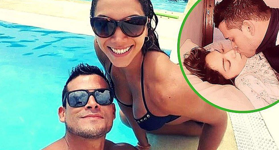 Christian Domínguez publica romántica foto junto a Isabel Acevedo (FOTO)