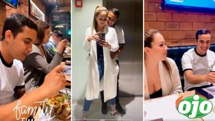 """Melissa Klug y su exclusiva cena con Jesús Barco y sus hijas: """"Mi bello amor"""""""