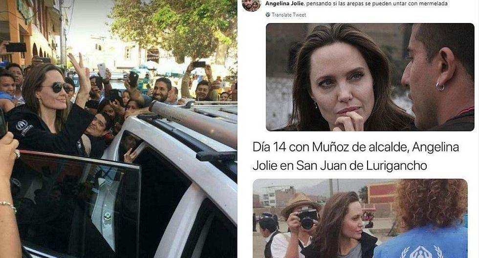 Angelina Jolie: los más divertidos memes tras su visita al Perú (FOTOS)