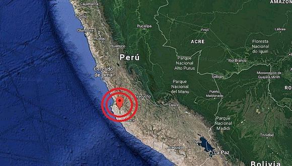 Ica: sismos de magnitudes 5.0 y 4.7 remecieron Marcona esta madrugada