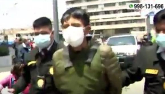 Los agentes de seguridad investigados por homicidio simple serán internados en un penal de Lima. (Captura: América Noticias)