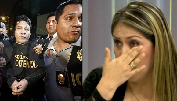"""Yeni Vilcatoma lloró tras acusaciones de sicario """"Goro"""": """"A él lo protegen los más poderosos"""""""