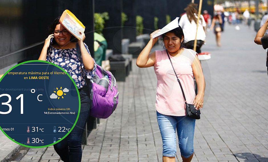 Lima soportará hoy 1 de febrero temperatura de 31°C según Senamhi