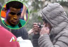 David Pantera Zegarra es captado llevándose algo a la nariz   VIDEO