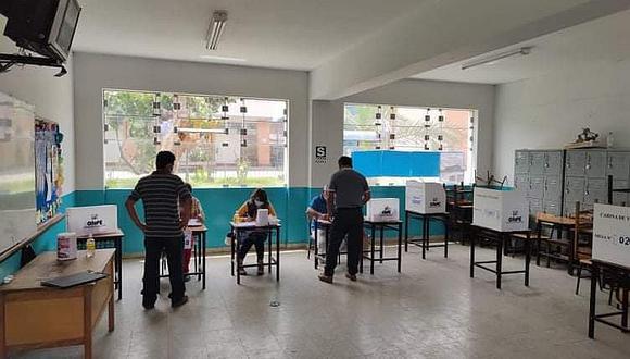 """La ONPE indicó que """"pronto"""" informará quiénes fueron elegidos miembros de mesa y cuál será el local de votación definitivo. (Foto: ONPE)"""