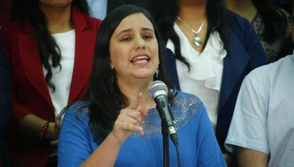 """Verónika Mendoza niega """"cogobierno"""" con Partido Morado: (Foto: Luis Centurión / GEC)"""