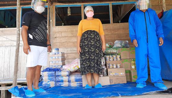 Madre de Dios: treinta y cinco comunidades indígenas recibirán 52.3 toneladas de alimentos (Foto: Qali Warma)