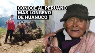 Huánuco: Una persona de 121 años recibió la vacuna contra la COVID-19