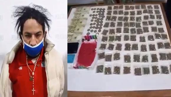 Capturan a Miguel Ángel Soto Blanco, de 34 años, quien microcomercializaba drogas.