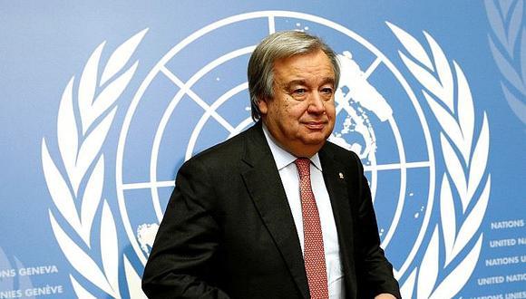 Palestinos critican a secretario general de la ONU por apoyar a Israel