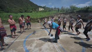 Guatemala: Conoce la pelota maya, una tradición que rebota de cadera en cadera