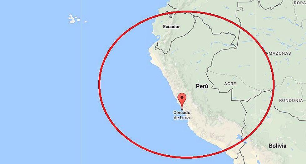 Sismo de 3.5 grados se registró en Lima