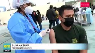 Ministerio de Salud inició vacunación a trabajadores del INPE