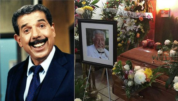 """Rubén Aguirre: Velan a """"El Profesor Jirafales"""" y confirman su cremación"""