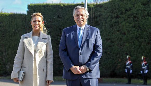 Alberto Fernández y Fabiola Yañez se convertirán en padres por primera vez juntos. El mandatario ya tiene un hijo mayor de 27. (Foto:  Esteban Collazo / Argentinian Presidency / AFP)