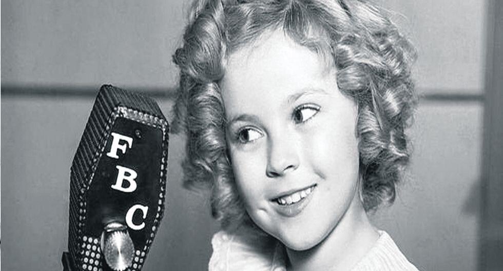 Mira la fotos de Shirley Temple, la niña de los risos de oro.