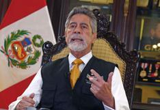 Francisco Sagasti dará Mensaje a la Nación esta tarde en medio de la incertidumbre política