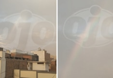 Coronavirus en Perú: aparece arcoíris en cielo limeño durante la cuarentena | FOTOS