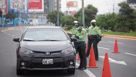 Recordemos que, desde el mes de enero en Lima y Callao las personas no podían utilizar sus vehículos particulares los días domingo. Foto: GEC