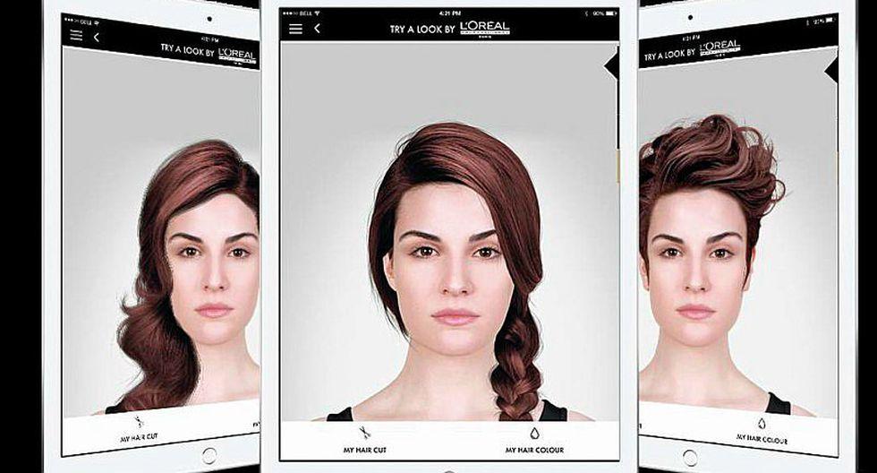 Mejor aplicacion para cambiar color de pelo