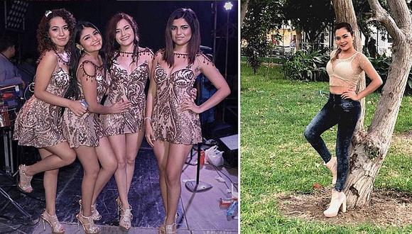 Lesly Águila muestra cómo han quedado sus pies tras el uso excesivo de tacos en sus shows (FOTOS)