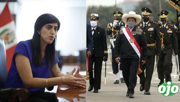 """""""El Perú no es un juego de tronos"""": María Antonieta Alva exige a Pedro Castillo que se rectifique"""