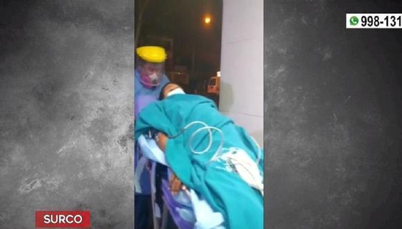 Conductor sufrió herida en el estómago al resistirse al robo de más de 13 mil dólares. (Captura: América Noticias)