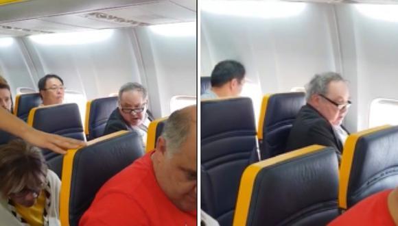 Hombre empieza riña en un avión porque no quería sentarse con una mujer negra (VIDEO)